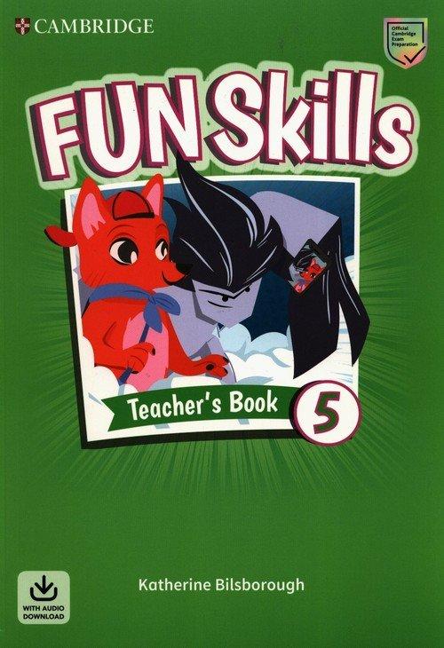 Fun Skills Level 5 Teachers Book - okładka podręcznika