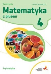 Matematyka z Plusem. Klasa 4. Szkoła - okładka podręcznika