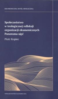 Społeczeństwo w teologicznej refleksji - okładka książki