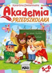 Akademia przedszkolaka - okładka podręcznika