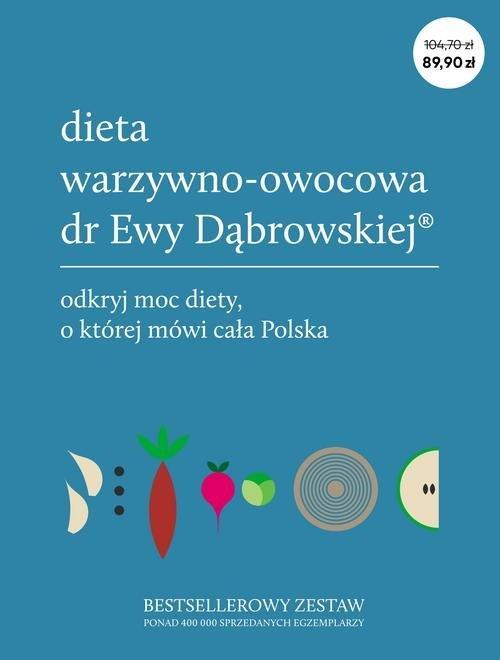 Przepisy + Dieta warzywno-owocowa - okładka książki