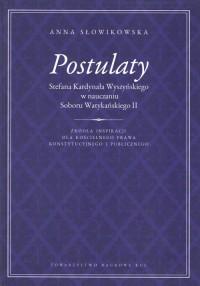 Postulaty Stefana Kardynała Wyszyńskiego - okładka książki