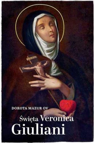 Święta Weronika Giuliani - okładka książki