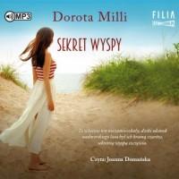 Sekret wyspy (CD mp3) - pudełko audiobooku
