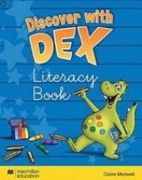 Discover with Dex Literacy Book - okładka podręcznika