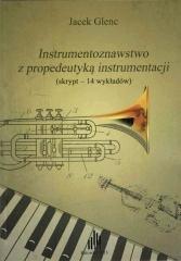 Instrumentoznawstwo z propedeutyką - okładka książki