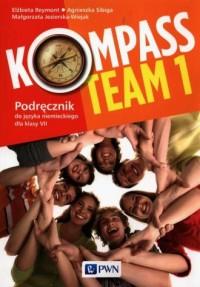 Kompass Team 1 Podręcznik do języka - okładka podręcznika