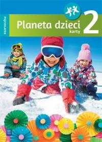 Planeta dzieci. Pięciolatek. Karty - okładka podręcznika