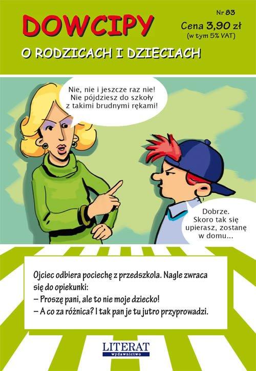 Dowcipy. O rodzicach i dzieciach - okładka książki