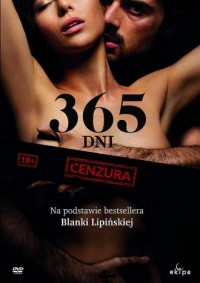 365 dni (DVD) - okładka filmu
