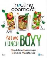 Insulinooporność. Łatwe lunchboxy - okładka książki