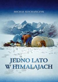 Jedno lato w Himalajach  - okładka książki