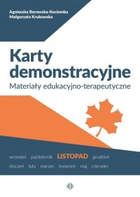 Karty demonstracyjne Listopad. - okładka książki