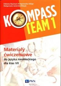 Kompass Team 1 Materiały ćwiczeniowe - okładka podręcznika