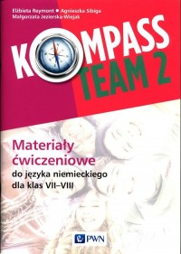 Kompass Team 2. Materiały ćwiczeniowe - okładka podręcznika