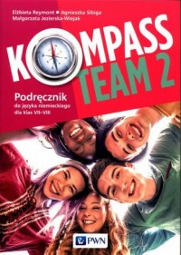 Kompass Team 2. Podręcznik do języka - okładka podręcznika