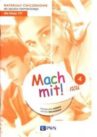 Mach mit! neu 4. Materiały ćwiczeniowe - okładka podręcznika