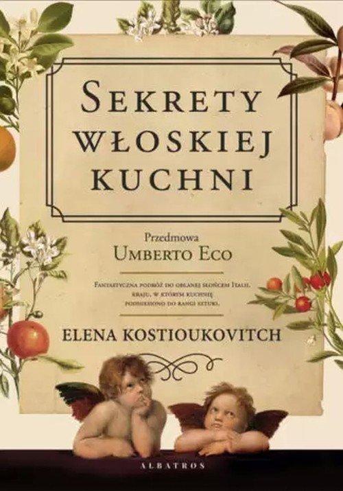 Sekrety włoskiej kuchni - okładka książki