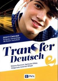 Transfer Deutsch 2 Język niemiecki - okładka podręcznika