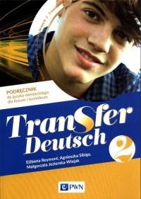 Transfer Deutsch 2. Podręcznik - okładka podręcznika