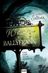 Witamy w Ballyfrann - okładka książki