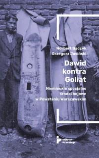 Dawid kontra Goliat - okładka książki