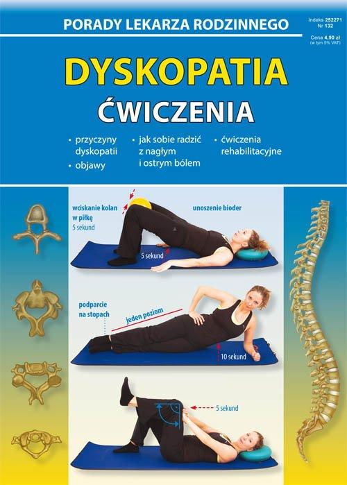 Dyskopatia Ćwiczenia. Porady Lekarza - okładka książki
