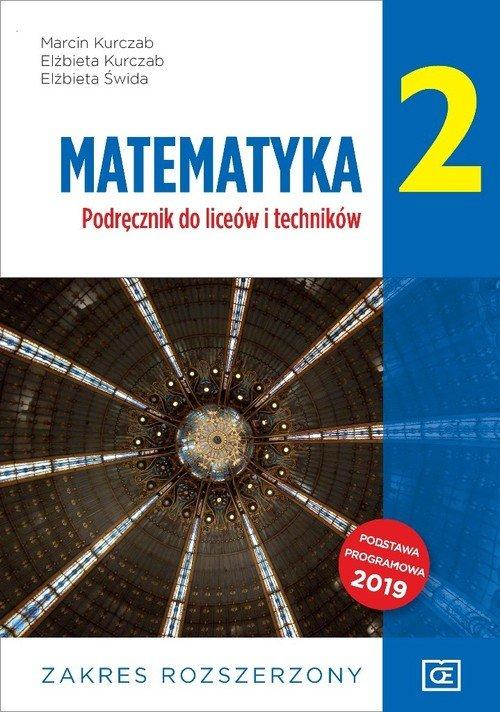 Matematyka LO 2 ZR OE - okładka podręcznika