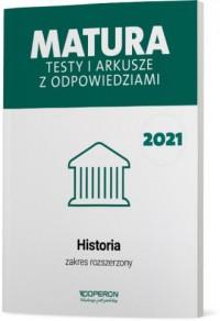 Matura 2021. Historia. Testy i - okładka podręcznika