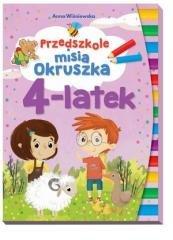 Przedszkole misia. Okruszka 4-latek - okładka książki