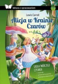 Alicja w Krainie Czarów z opracowaniem - okładka podręcznika