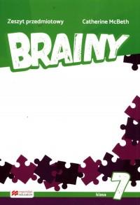 Brainy 7 Zeszyt do języka angielskiego - okładka podręcznika