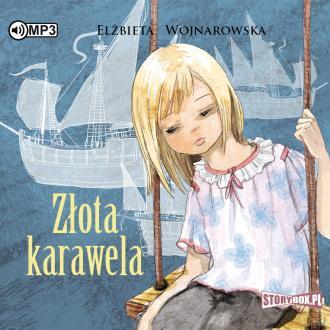 Złota karawela (CD mp3) - pudełko audiobooku