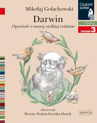 Darwin. Opowieść o naszej wielkiej - okładka książki