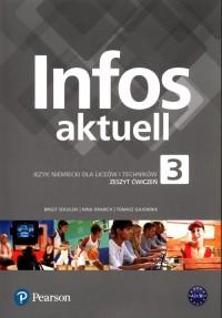 Infos aktuell 3. Język niemiecki. - okładka podręcznika