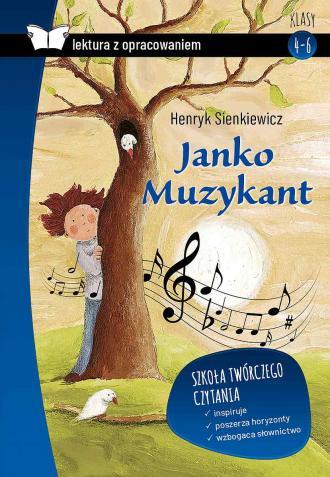 Janko Muzykant z opracowaniem - okładka podręcznika