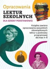 Opracowania lektur szkolnych dla - okładka podręcznika