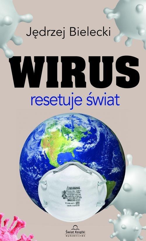 Wirus resetuje świat - okładka książki