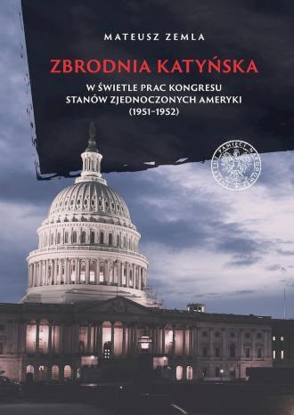 Zbrodnia katyńska w świetle prac - okładka książki