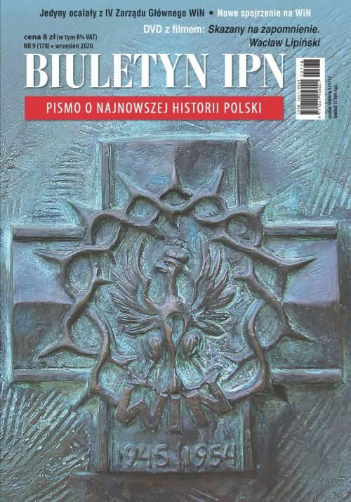 Biuletyn IPN nr 178 (9) / 2020 - okładka książki