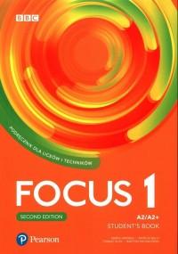 Focus Second Edition 1 Students - okładka podręcznika