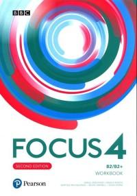 Focus Second Edition 4 Workbook - okładka podręcznika