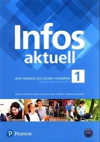 Infos aktuell 1 Język niemiecki - okładka podręcznika