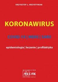 Koronawirus COVID-19, MERS, SARS - okładka książki