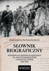 Słownik biograficzny - okładka książki