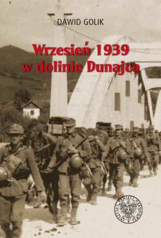 Wrzesień 1939 w dolinie Dunajca - okładka książki
