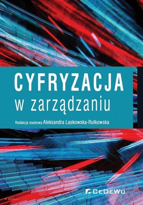 Cyfryzacja w zarządzaniu - okładka książki