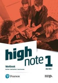 High Note 1 WB MyEnglishLab + Online - okładka podręcznika