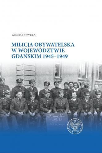 Milicja Obywatelska w województwie - okładka książki