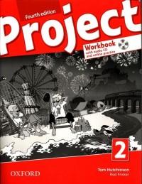Project 2 Workbook + CD + online - okładka podręcznika